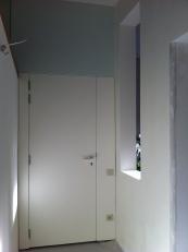 View of vestibule entering the apartment