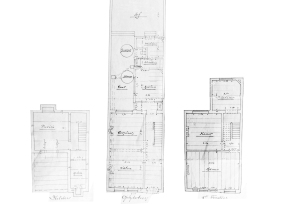 Original plans dating from the construction period