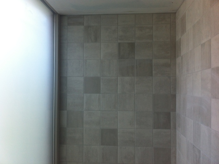 Mosa tiles in showerroom
