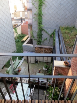 View of garden from terrace