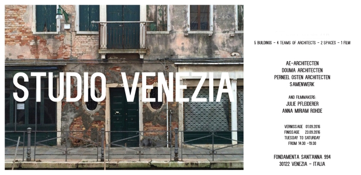 invitation Studio Venezia 2016